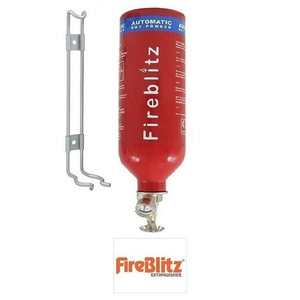 Fireblitz 2kg Dry Powder Automatic Fire Extinguisher - Miscellaneous