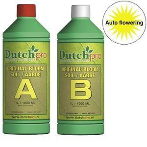 Dutch Pro Auto Flowering Bloom Soil A+B Hard Water 1 Litre