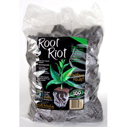 Root Riot Cubes x100 - Propagation Accessories