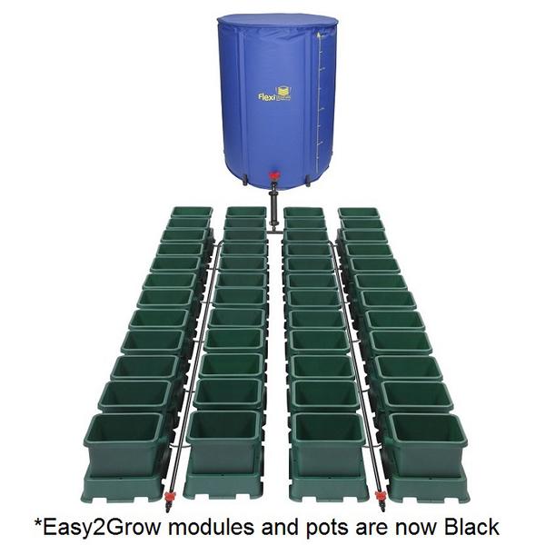 Easy2Grow 48 Pot Kit With 400L Flexitank - Autopot Growing Systems