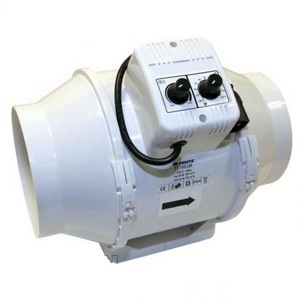 Vents TT Mixed-Flow Temp & Speed Control Fan 100mm