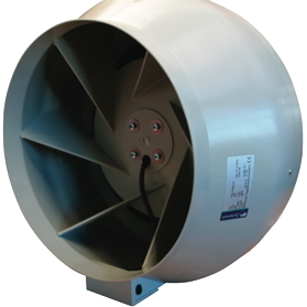 "315mm (12"") Systemair RVK A1-LP Grow Room Fan - Inline Exhaust and Intake Fans"
