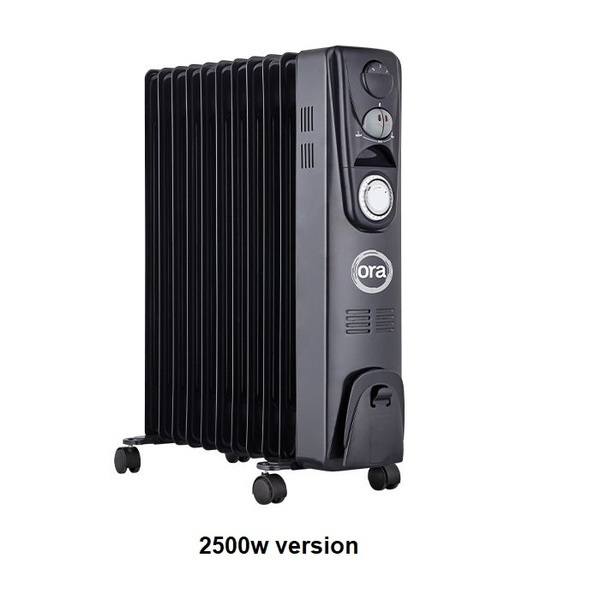 ORA Oil Filled Radiator Heaters - Temperature and Humidity Control