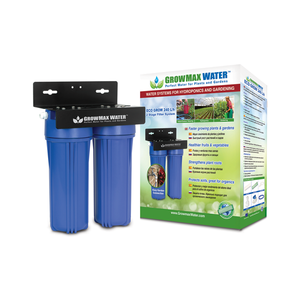 GrowMax Water Filter - Eco Grow Filter Unit 240lph - Water Filters and RO units