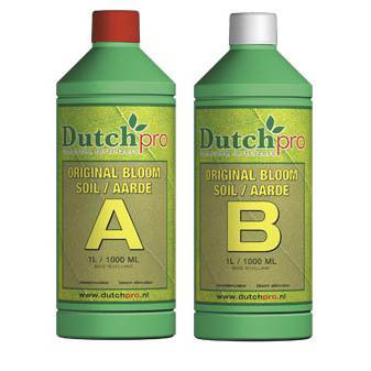Dutch Pro Original Bloom Soil A+B Hard Water 1 Litre - Bloom