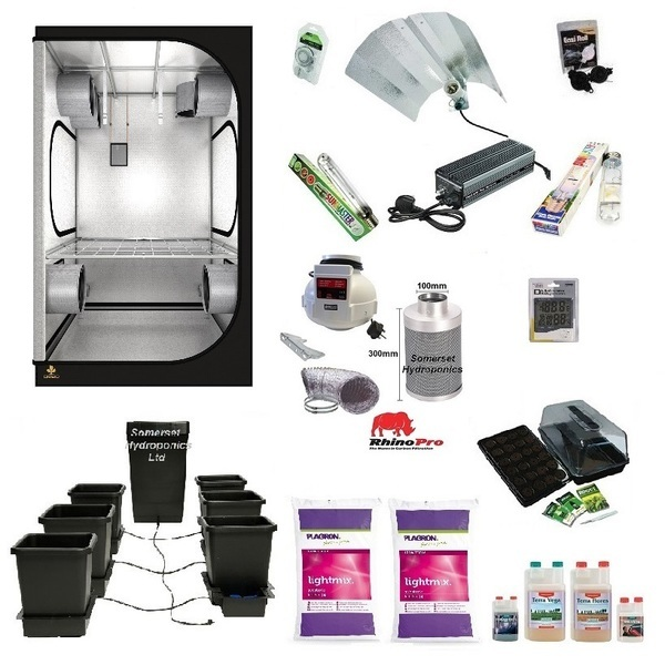 Autopot 6 Pot Variable Light Output Grow Kit - Hydroponic & Soil Growing Kits