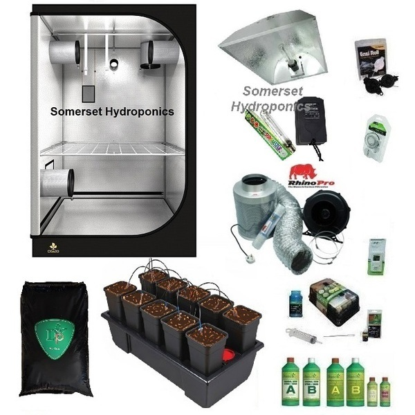 Wilma10 Coco Dripper Grow Kit - Hard Water - Hydroponic & Soil Growing Kits