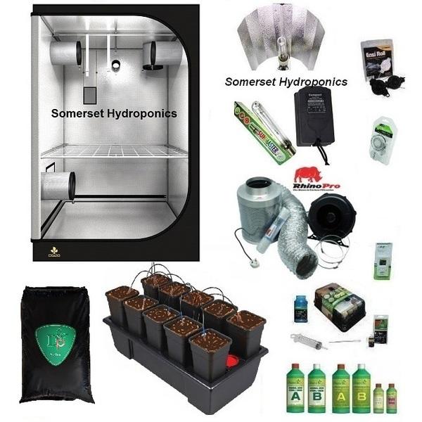 Wilma10 Coco Dripper Grow Kit - Hard Water - Hydroponic & Soil Growing Kits