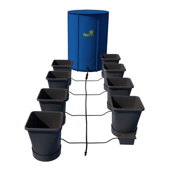 Autopot XL 8 Pot Kit With 100L Flexitank - Autopot Growing Systems