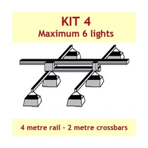 Jupiter2 Grow Light Rail Kit 4
