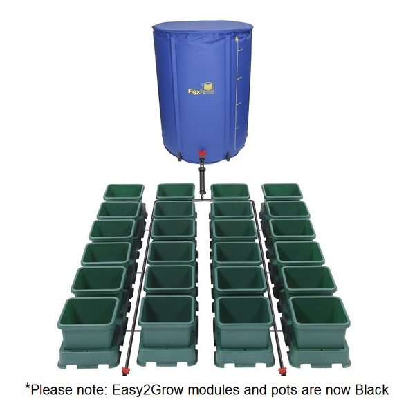 Easy2Grow 24 Pot Kit With 225L Flexitank - Autopot Growing Systems