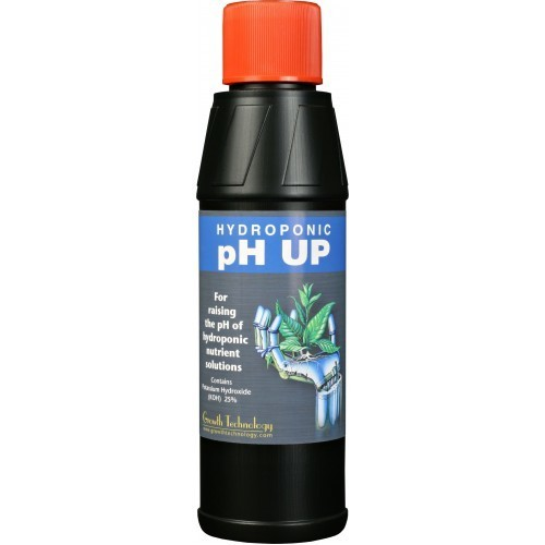 Growth Technology pH Up Acid (25%) 250ml - pH and EC Solutions
