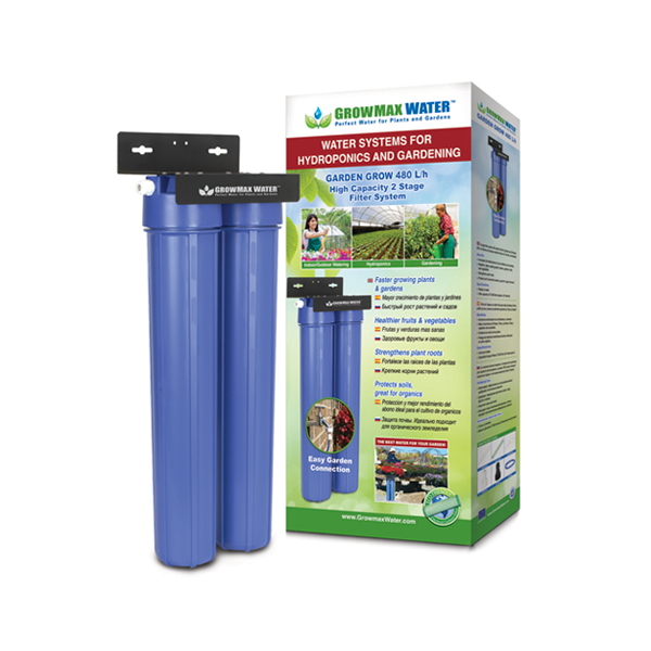 GrowMax Water Filter - Garden Grow Filter Unit 480lph - Water Filters and RO units