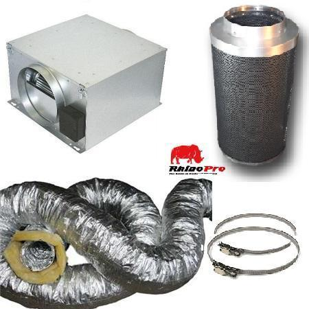 CAN-FAN ISOTX Acoustic Ventilation Kit 125mm - Ventilation Kits