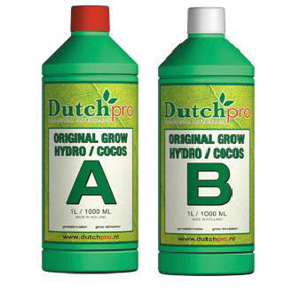 Dutch Pro Original Grow Hydro/Coco A+B Hard Water 5 Litre - Grow