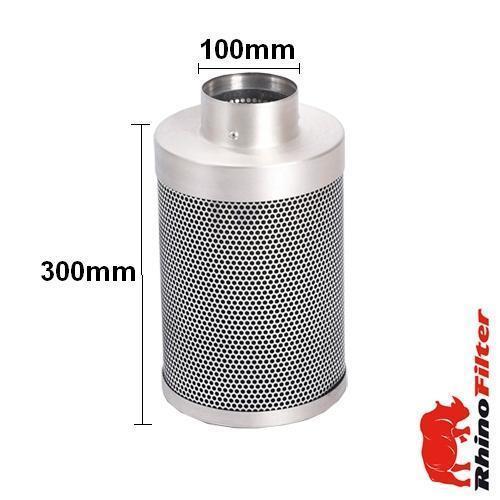 Rhino Single Speed HP Fan Ventilation Kit 100mm - Alu Duct - Rhino Single Speed Fan Ventilation Kits