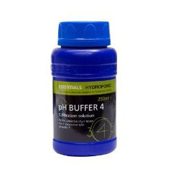Essentials pH Buffer4 250ml - pH and EC Solutions