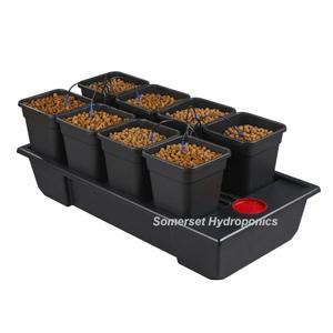 Wilma 8 pot Hydroponic Dripper system