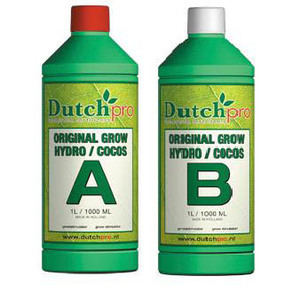 Dutch Pro Original Grow Hydro/Coco A+B Hard Water