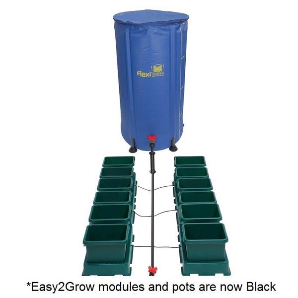 Easy2Grow 12 Pot Kit With 100L Flexitank - Autopot Growing Systems
