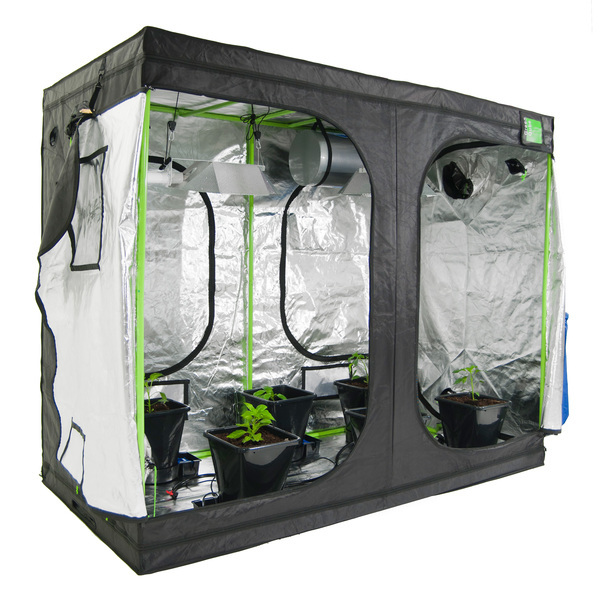Green-Qube GQ1224  120x240x200cm - Premium Grow Tents