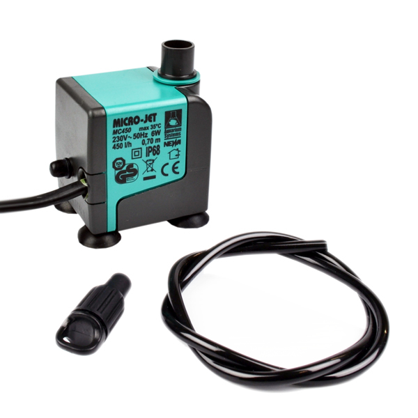 Micro-Jet MC450 Water pump (420lph) - Water Pumps & Timers