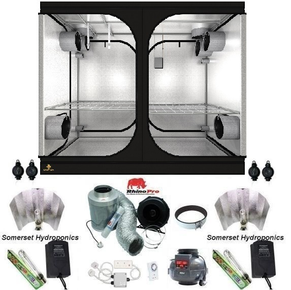 Secret Jardin DR240W Grow Tent Kit - Grow Tent Kits  sc 1 st  Somerset Hydroponics & Secret Jardin DR240W Grow Tent Kit | Grow Tent Kits | Somerset ...