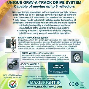 Jupiter2 Grow Light Rail Kit 3