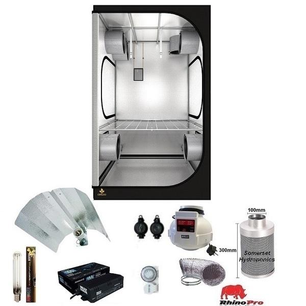 Secret Jardin DR120 Grow Tent Kit - Warpdrive Grow Light - Grow Tent Kits