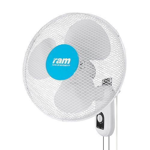 "Ram 16"" Oscillating Wall Fan - Air Circulation Fans"