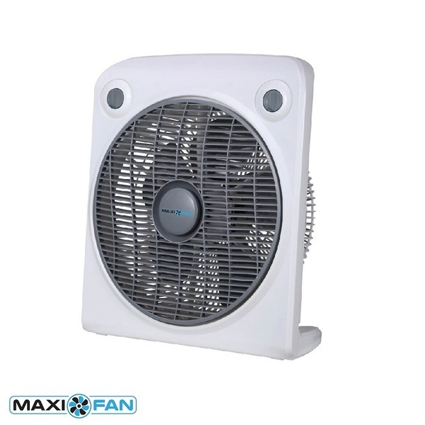 "Maxifan 30cm (12"") Floor Fan  - Air Circulation Fans"