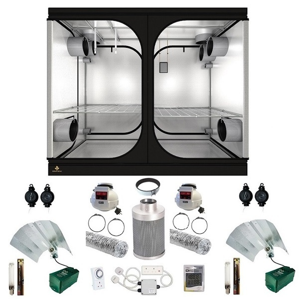 Secret Jardin DR240W Grow Tent Kit - Grow Tent Kits