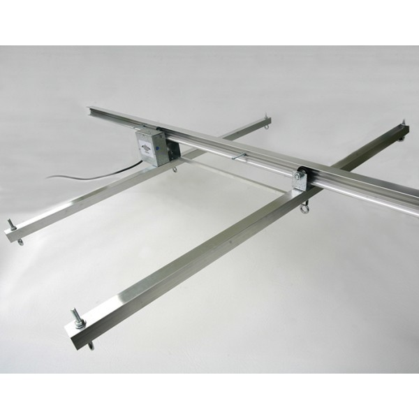 Jupiter 2 Grow Light Rail Kit 4 - Grow Light Rails