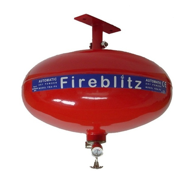 Fireblitz 4kg Dry Powder Automatic Fire Extinguisher - Miscellaneous