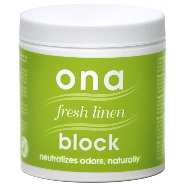 Ona Block Fresh Linen 170g - Ona & SureAir Products