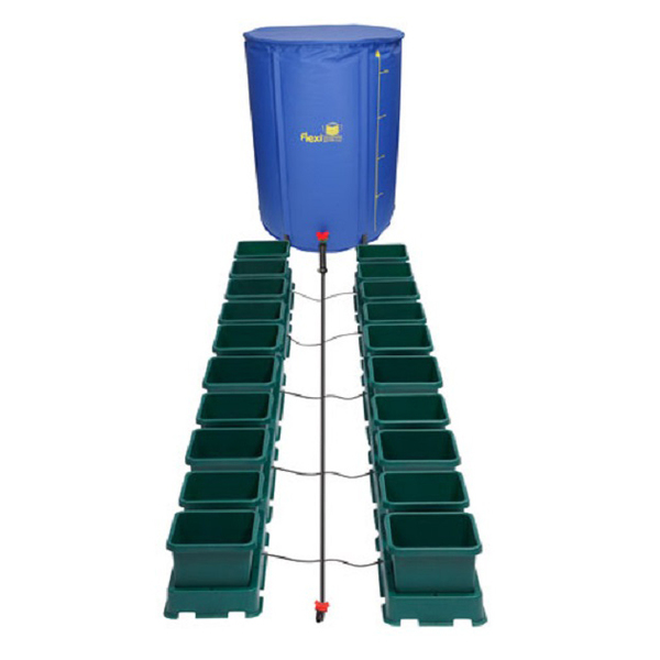 Easy2Grow 20 Pot Kit With 225L Flexitank - Autopot Growing Systems