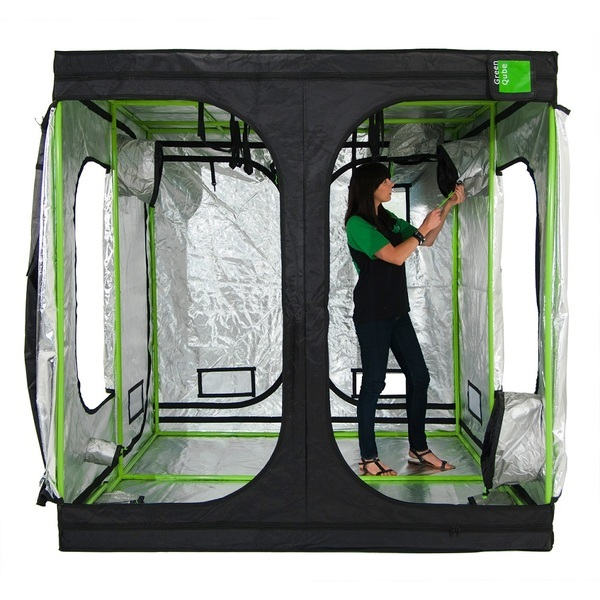 Green-Qube GQ240: 240 x 240 x 200cm - Professional Grow Tents