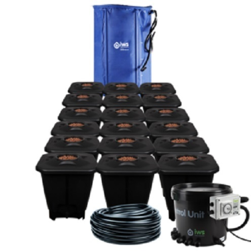 IWS 18pot DWC System - FlexiTank - DWC Growing  Systems