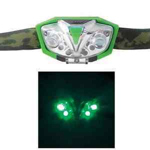 Lumii Green LED Head Lamp