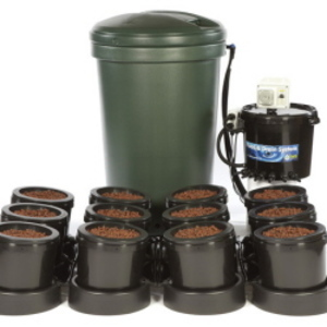 IWS Flood and Drain Aqua 12pot - Plastic Tank