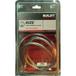 BUILD!T RIZE Heavy Duty Cable Hanging system 3mtr