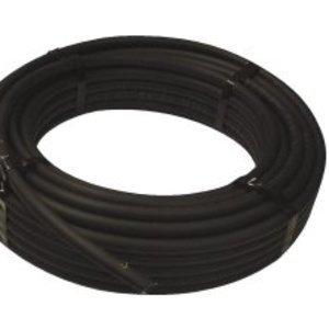 6mm (4mm i.d) Black Flexi Tubing