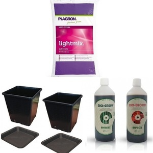 Organic 2 Plant Growing Kit