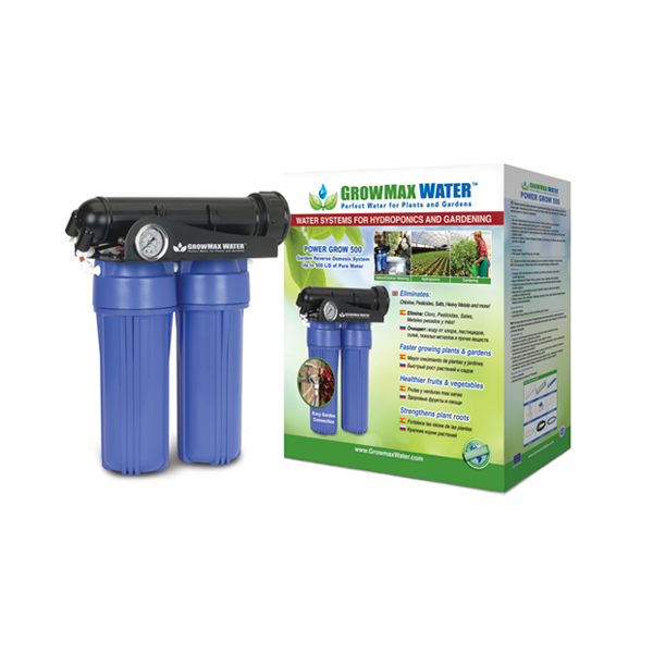 GrowMax Water RO - Power Grow Unit 500lpd - Water Filters and RO units