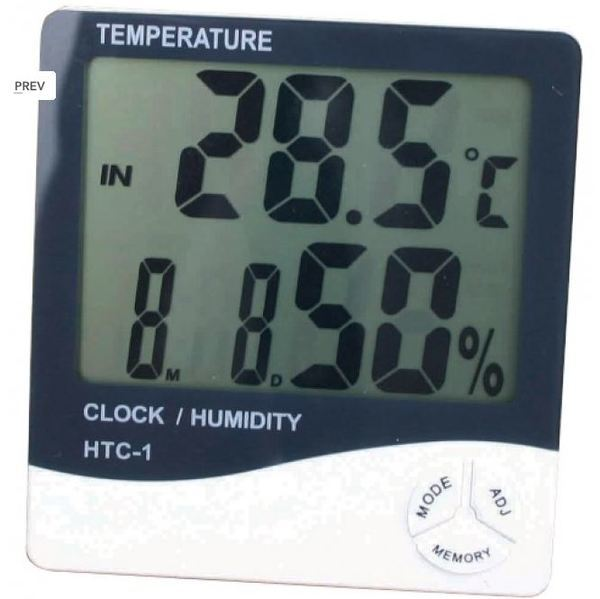 Smartgro Digital Hygrometer (Temperature & Humidity) - Temperature and Humidity Control