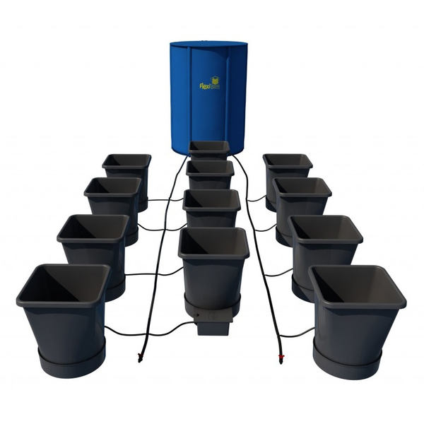 Autopot XL 12 Pot Kit With 225L Flexitank - Autopot Growing Systems
