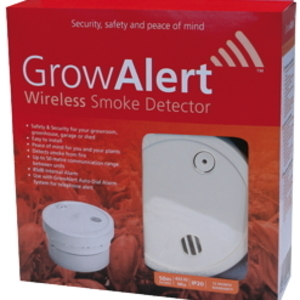 GrowAlert Wireless Smoke Detector