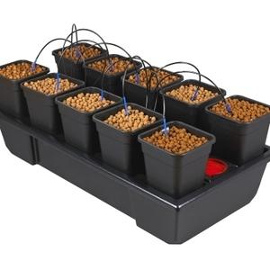 Wilma 10 pot Hydroponic Dripper system
