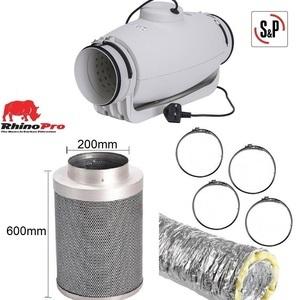 Soler & Palau TD-Silent Acoustic 200mm Ventilation Kit