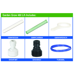 Garden Grow Filter Unit parts